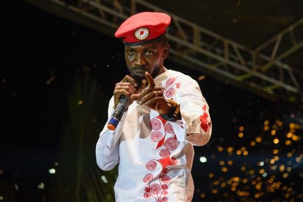 bobi wine Osobola independence concert blocked