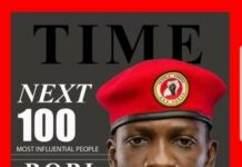 Bobi Wine TIME 100 Next List