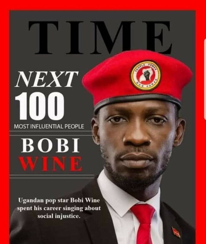 Bobi Wine TIME 100 Next List