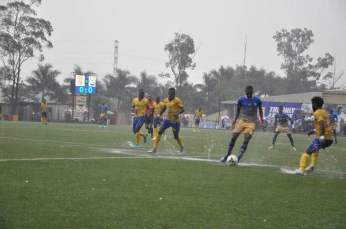 Coach Mike Mutebi KCCA FC