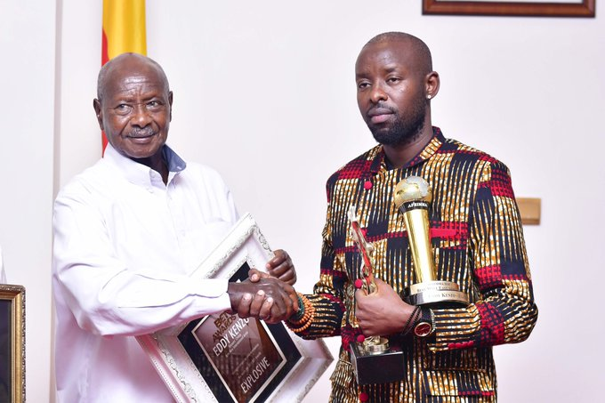 Eddy Kenzo Uganda meeting President Museveni