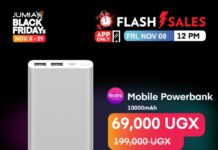 Jumia black Friday November 29