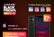 Jumia black Friday November 8