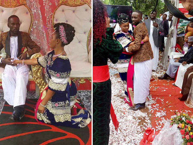 MC Mariachi joins our list of Most Luxurious Celebrity Ceremonies in Uganda after bowing down to pressure from her fiancée's family