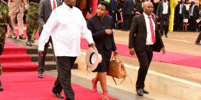 Museveni-Anti-Corruption walk Nakalema