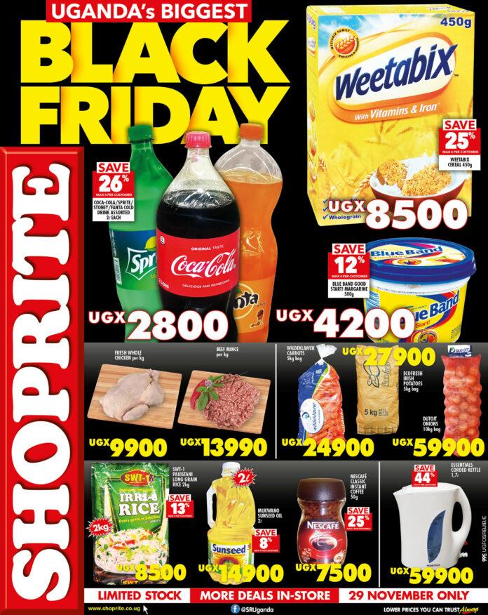 Shoprite Uganda unveils Black Friday discounts for 2019 - Flash ...