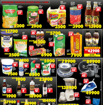 Shoprite Uganda Sale of the Year