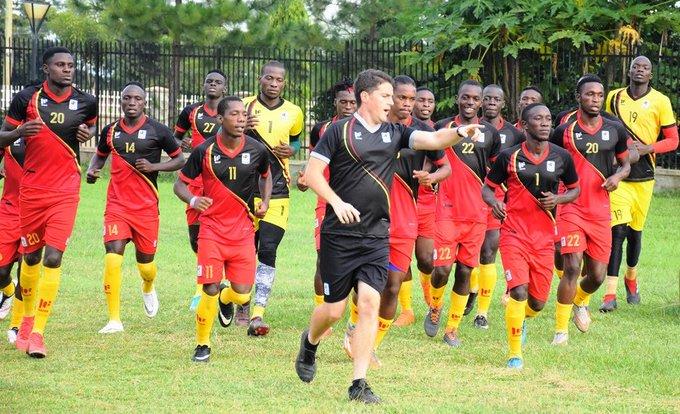 Uganda Cranes coach Burkina Faso, Jonathan McKinstry