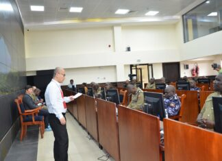 Uganda Police CCTV cameras13 training