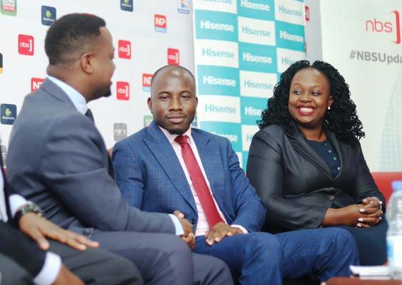 Zambaali Bulasio Mukasa (Centre) joins NBS team