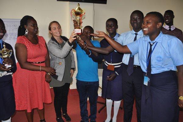Action Aid Uganda anti-corruption debating clubs