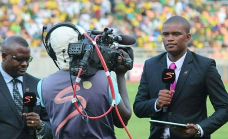 Andrew Kabuura on SuperSport