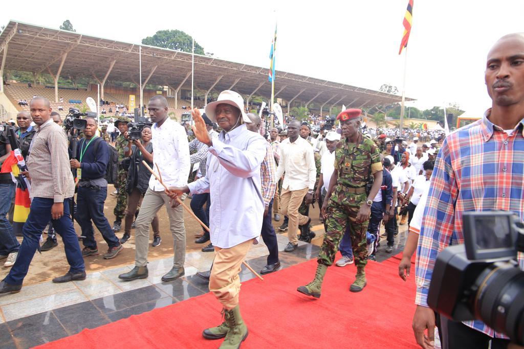 Museveni corrupt officials Anti-Corruption walk3