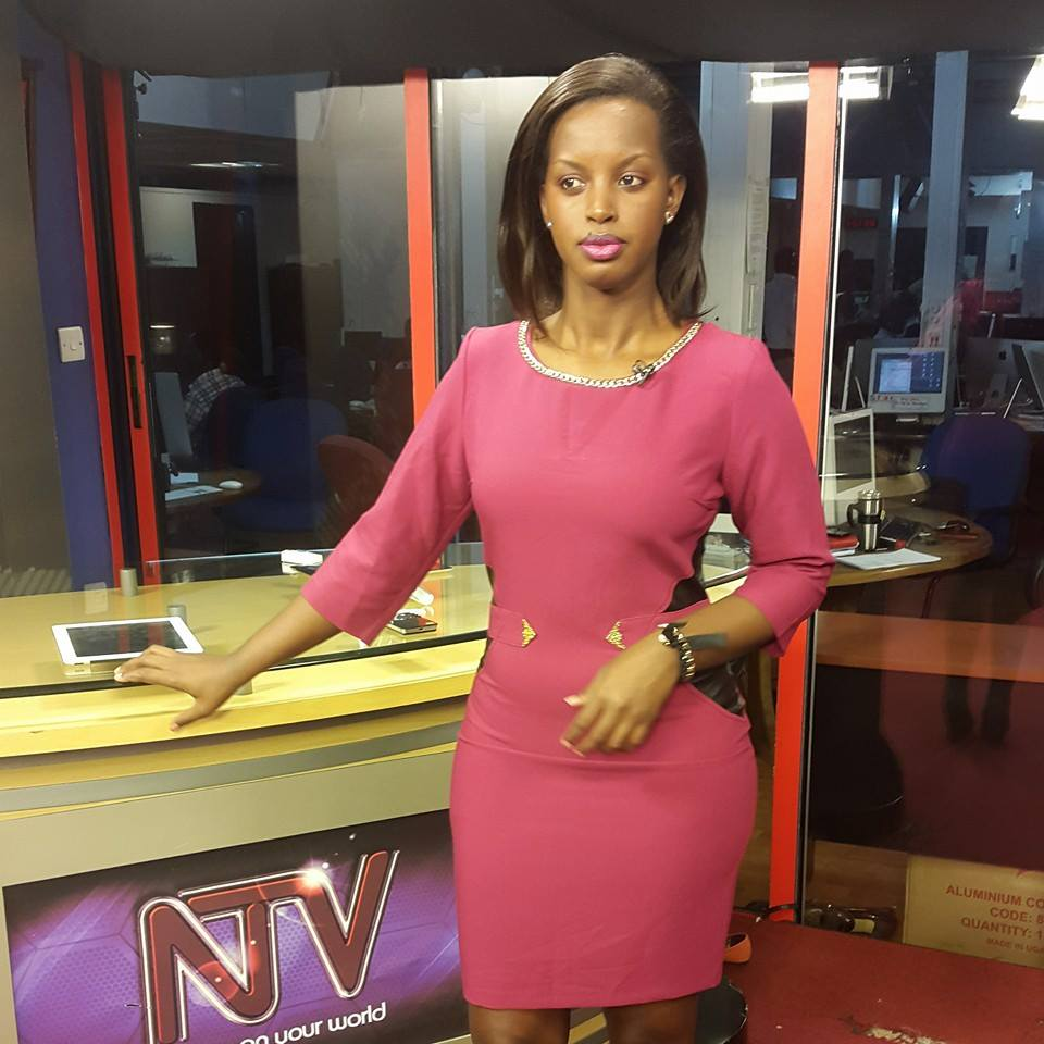 Flavia Tumusiime at NTV Uganda Tonight