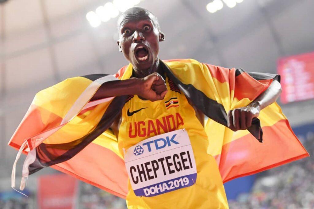 Joshua cheptegei Uganda
