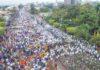 Museveni Anti-Corruption walk Kololo