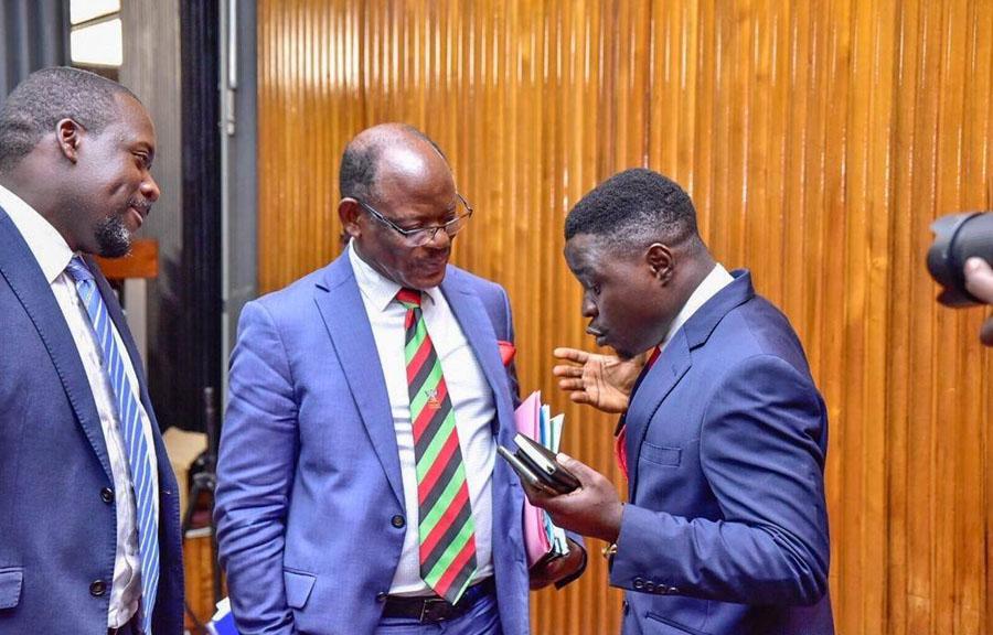 Nawangwe Francis Zaake threatened