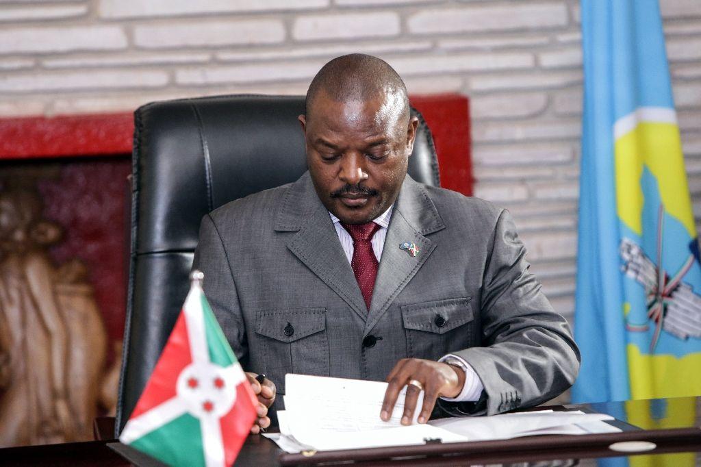 President Pierre Nkurunziza of Burundi2