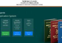 Uganda passport application system