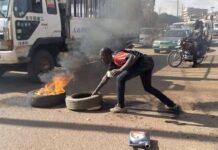 burning tyres on roads Roads Act 2019 Uganda