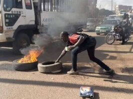 burning tyres on roads Roads Act 2019 Uganda