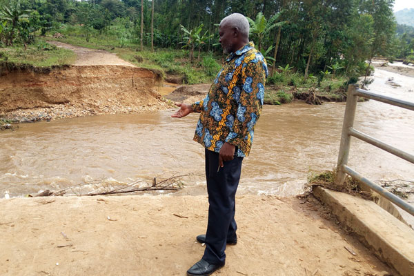 heavy rain Bugisu sub-region photo by Yahudu Kitunzi Daily Monitor