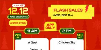 jumia flash sales buy goat