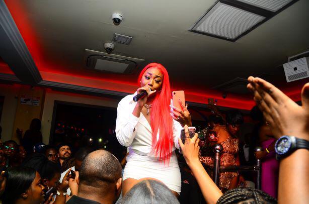 Ms Banks Snap off party Kampala