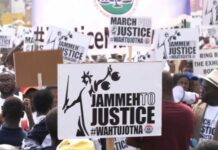 Jammeh's human rights