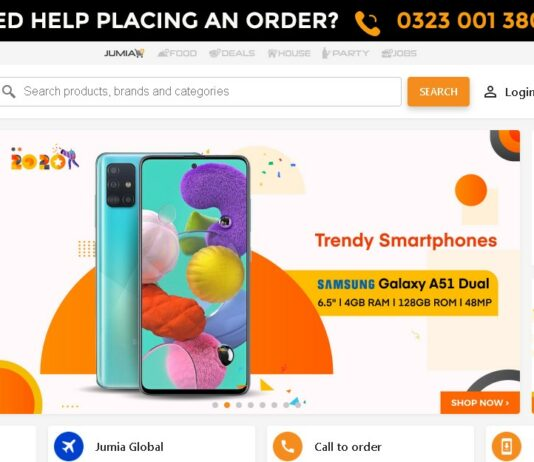 Jumia named Uganda best online shopping