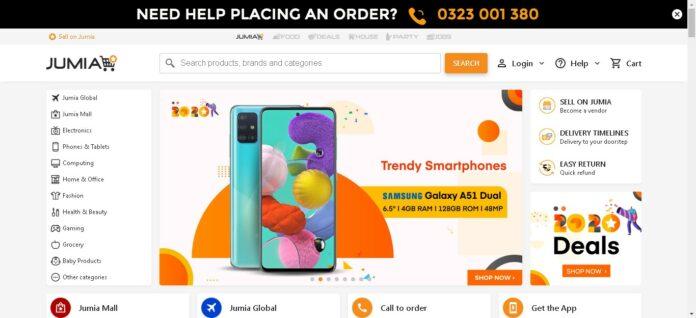 Jumia named Uganda best online shopping