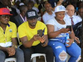 King Michael nrm delegates conference attacking Bobi Wine