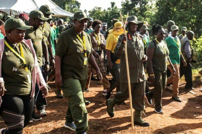 Museveni trek tourism venture