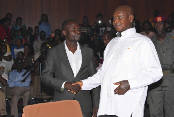 Ronald Mayinja Bajjo Museveni Money