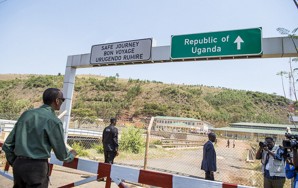 Rwanda President Paul Kagame uganda border