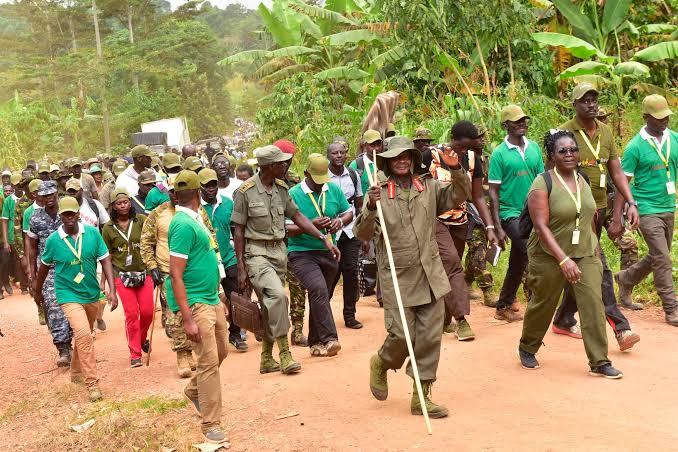 Ssemujju Nganda Museveni trek