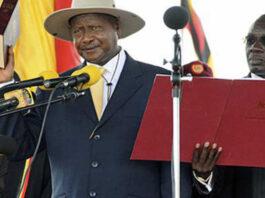 Uganda swearing-in ceremony