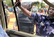 Uganda police brutality