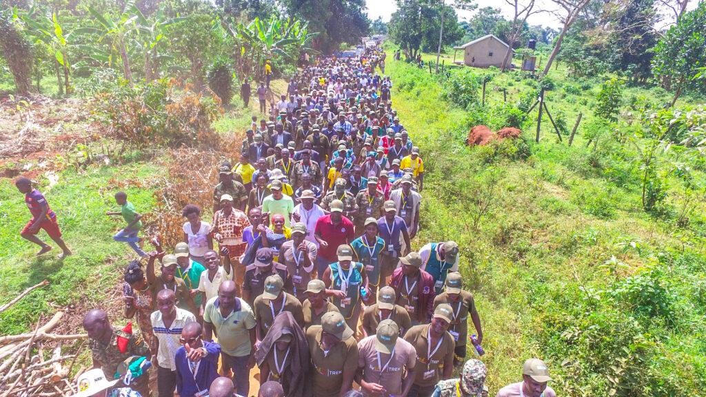 minister Kiwanda Museveni trek