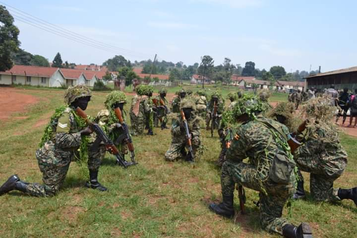 Another group of UPDF soldiers graduates in Jinja