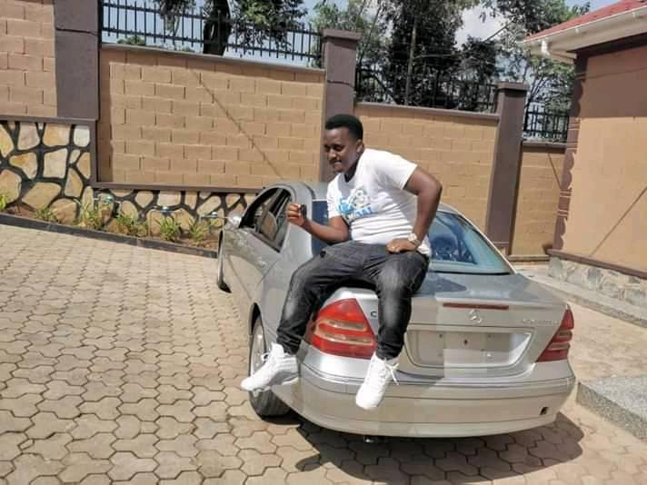 bebe cool Mutabaazi with brand new car