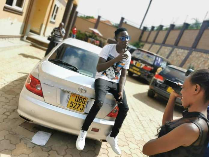 Bebe Cool gifts Ronnie brand-new car
