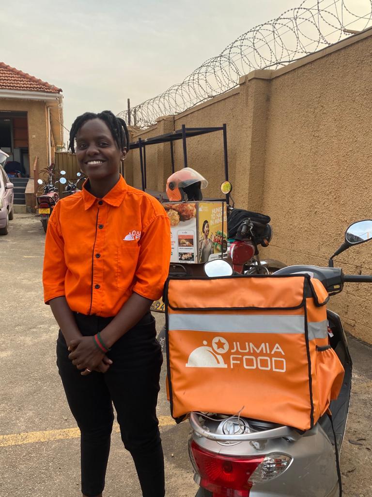 Barbara Jumia Uganda female rider