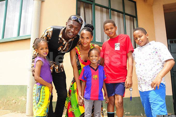 Chameleone wife Daniella atim family children
