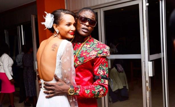 Chameleone is married to Daniella Atim Mayanja