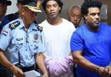Ronaldinho in Paraguay prison