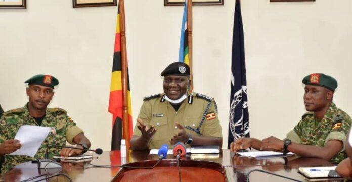 UPDF Police task force Coronavirus