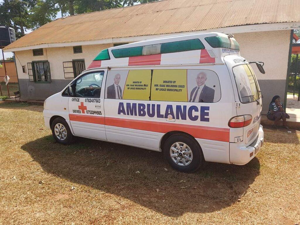Uganda MPs Ambulances COVID-19