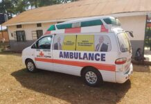 Uganda MPs Ambulances COVID-19