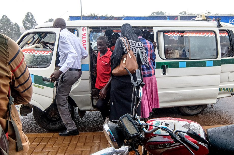Uganda Police on Coronavirus Taxis